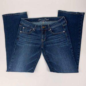 American Eagle Jeans Size 6s Short Boyfriend